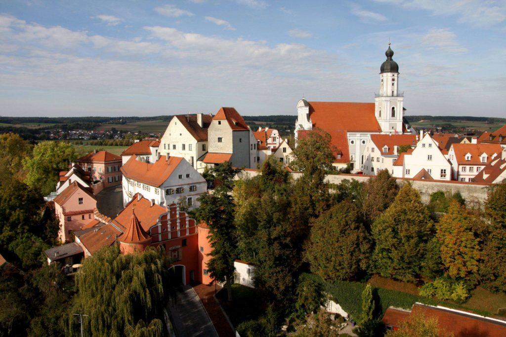 Neuburg Altstadt Südwest (Bild: Stadt Neuburg)