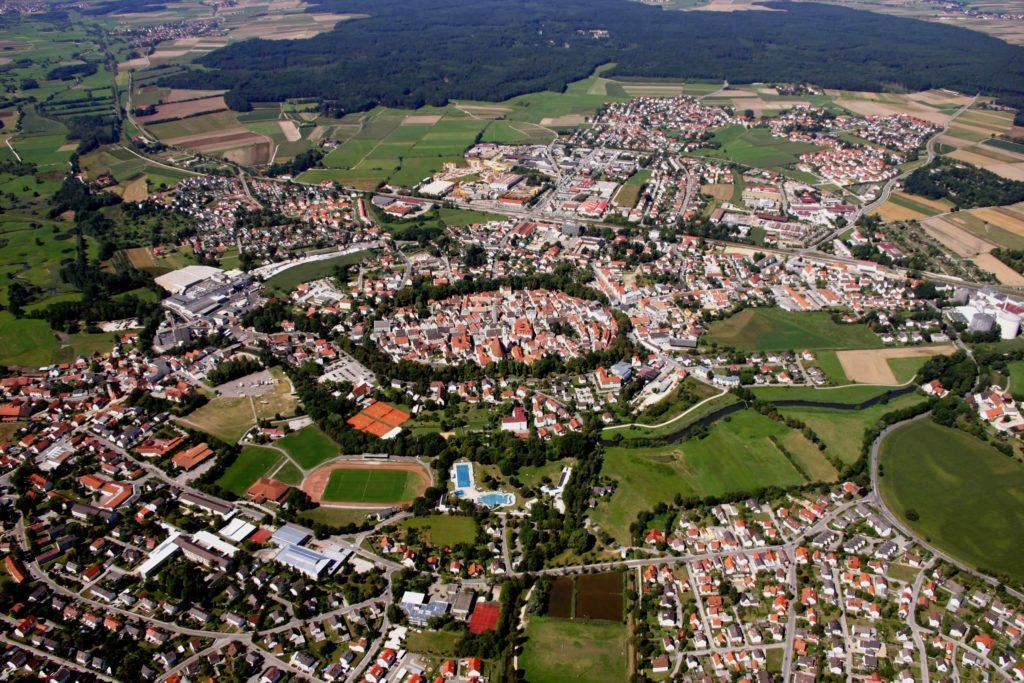 Luftbild Schrobenhausen (Bild: Fotoclub Schrobenhausen)