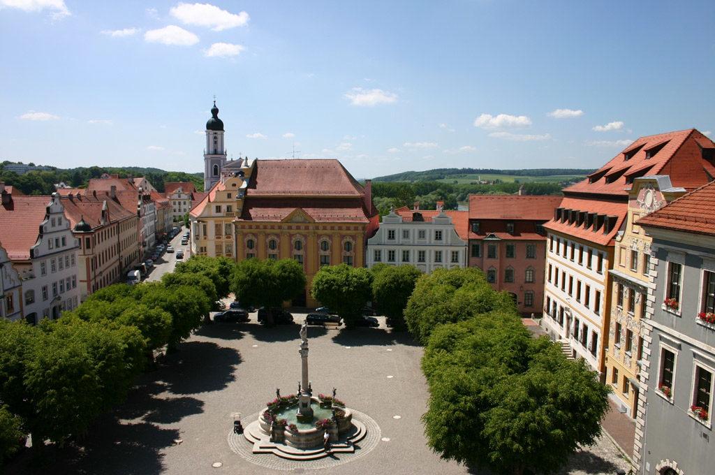 Aussicht Hofkirche (Bild: Stadt Neuburg)