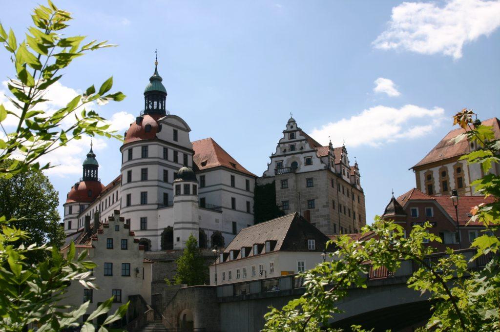 Schlossansicht Neuburg/Donau (Bild: Stadt Neuburg)